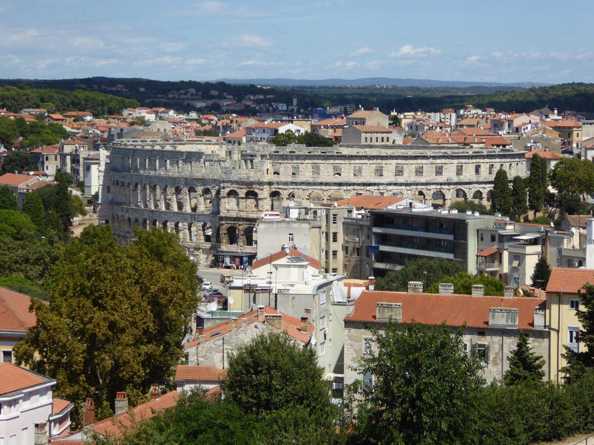 Urlaub Kroatien 2017 – Tag 3 – Pula