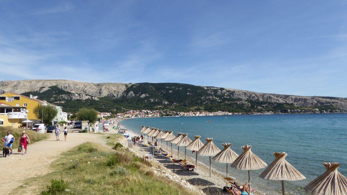 Kroatien 2019 – Tag 4 – Baška Strandtag